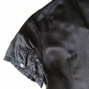 Banana Republic Tops - Banana Republic XS Black Silk Blouse